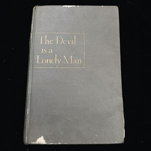 Antique The Devil is a Lonely Man 1946 black book!